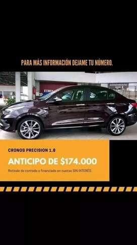 RETIRA TU FIAT CRONOS PREADJUDICADO CON $174.000