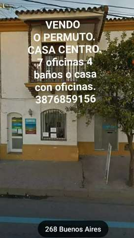 (Vendo)   CASA VIVIENDA U OFICINAS . ZONA CENTEO