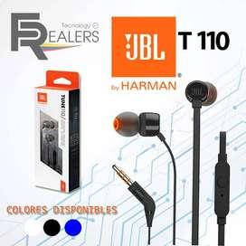 Audifonos Microfono Para Tablet Celular Laptop Jbl T110 New