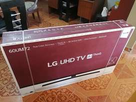 "Smart tv lg de 60""AI thinQ"