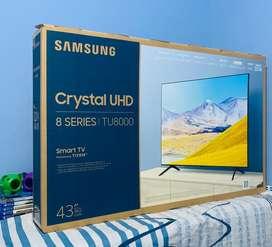 "Tv samsung tu8000 43"" crystal UHD 4K 2020"