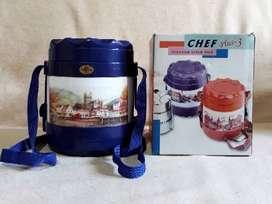 Chef Plus -3, Insulated lunch box, Loncheras, Azul y Taxo.