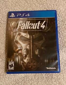 Fallout 4-Ps4, incluye poster