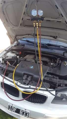 Cargas de aire acondicionado y calefaccion de automoviles