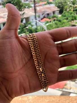 Cadena de oro cubana