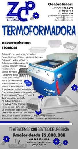Termoformadoras troqueladoras selladoras somos fabricantes  Bogot