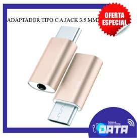 ADAPTADOR TIPO C A JACK 3.5 MM
