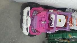 Carro eléctrico para niña