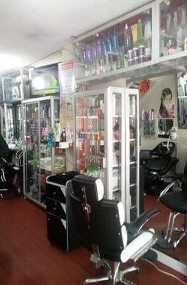 Se vende salón de Belleza en sector comercial Cra. 7ma. de la ciudad de Ipiles