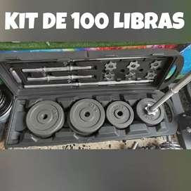 KIT 100 LIBRAS (50 KILOS)