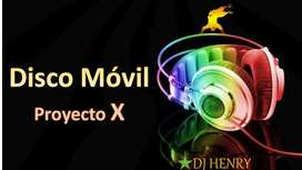 disco movil proyecto X