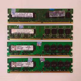 MEMORIA RAM DDR2 1GB, usado segunda mano  Perú