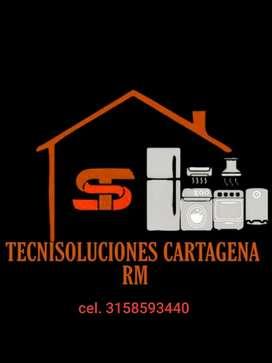 Servicio tecnico de reparaciones a electrodomésticos, gasodomesticos y equipos de refrigeración