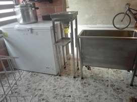 Congelador Refrigerador, Olla Industrial