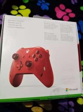 Control Xbox one sport red + juego digital