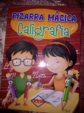 Libro con pizarra mágica
