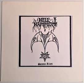Hellhammer Satanic Rites Lp Unofficial Blue Vinyl Europa