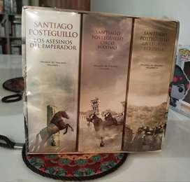 Trilogia De Trajano 3 Tomos Santiago Posteguillo - Nuevo