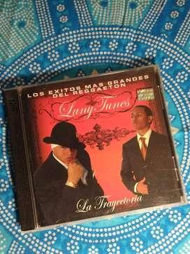 """cds """"La trayectoria"""" y """"Más flow 2"""" Luny Tunes"""