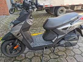 Vendo moto bws fi modelo 2019