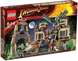 Lego 7627 Indiana Jones Templo De La Calavera De Cristal
