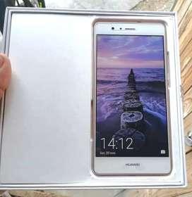 Huawei p9lite blanco en su caja celular p9 lite huella 2ram y 16
