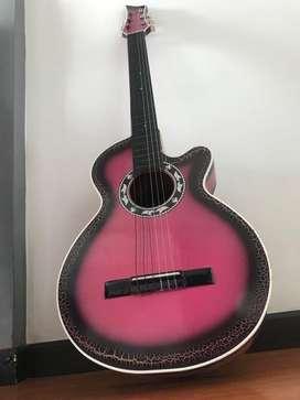 Ganga hermosa Guitarra acustica
