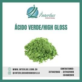 Acido verde  para cristalizado y mantenimiento de pisos.