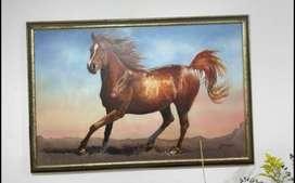 Vendo cuadro de caballo