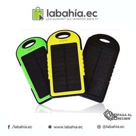 Power Bank Solar impermeable 5000mAh