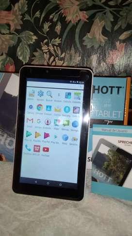 Tablet 7'  con teléfono excelente.