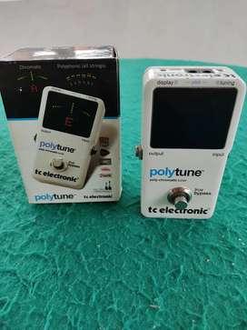 Afinador Poly tune 2 tc electronic con la caja