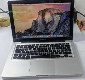 Macbook Pro  Intel Core 2 Duo, 2 Ram, Disco Solido 240gb Con Su Bateria Y Cargador