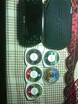 PSP 1001 NUEVA con VARIOS JUEGOS ORIGINALES
