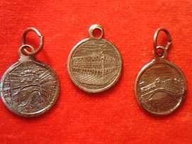 Antiguas Medallas De La Ciudad De Venecia