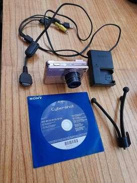 Cámara SONY Cyber-shot DSC-W120   Color Rosa   Con Accesorios