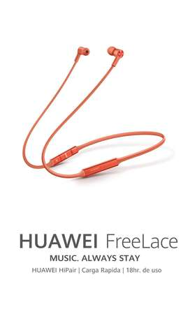Audifono Huawei Freelace Bluetooth Original Nuevo En Caja Sellada