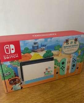 Nintendo Switch Edición Animal Crossing