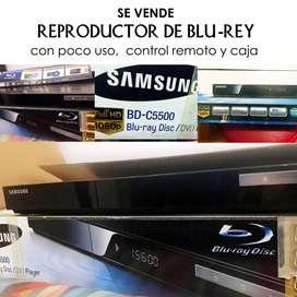 Reproductor  de Blu Rey