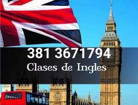 Clases de Inglés conversación