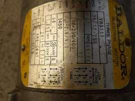 Vendo motor 220v 3450rpm