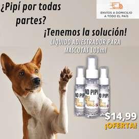 No Pipí / Líquido Entrenador de Mascotas / Fórmula 100% Eficaz (¡Oferta Hasta Agotar Stock!)