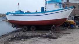 Venta de embarcación para pota o perico matrícula y permiso de pesca precio ligeramente negociable