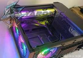 CASE GABINETE CHASIS CARCAZA PC RGB GAMER