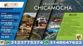 Panachi cruzando el chicamocha parque nacional del chicamocha