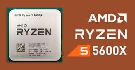 Disponible Ryzen 5 5600x 6 cores y 12 núcleos con garantía