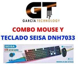 COMBO MOUSE Y TECLADO SEISA DNH7033