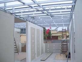 Servicios de Diseños en Sistema Drywall , techos , divisiones  y mas