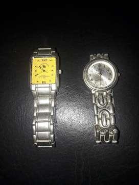 Reloj Polo de Hombre Y El Otro de Mujer