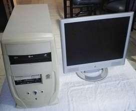 CPU y MONITOR